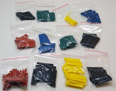 280pcs 8 Size Assortment Ratio 21 Heat Shrink Tubing Tube Sleeving Wrap Kit