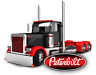 PETERBILT SEMI TRUCK STICKER DECAL GARAGE LABEL MAN CAVE TOOLBOX MADE IN USA