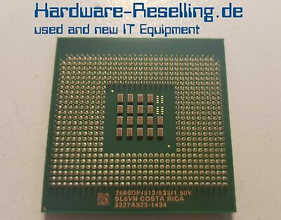 Intel Single (Intel Xeon 2800DP Single Core CPU 2.8GHz/512/533 Socket 604  - SL6VN)