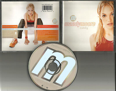 Mandy Moore Candy W  Instrumental   Video Special Footage Cd Single Usa Seller