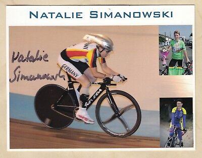 Natalie Simanowski - original signierte Autogrammkarte