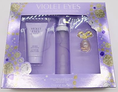 Violet Eyes By Elizabeth Taylor Perfume 1 7 Oz 50 Ml Edp Mini Edp Bl Gift Set 3