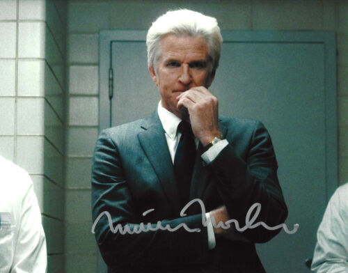 MATTHEW MODINE AUTHENTIC 'STRANGER THINGS' DR BRENNER 8X10 PHOTO w/COA ACTOR