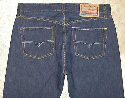 Diesel Cotton Straight Leg Jeans (Diesel Keetar Jeans Mens Sz 36 X 33 Tapered Straight Leg 100% Cotton Italy Made )