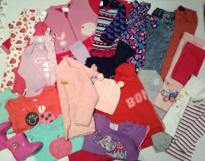 Baby Girls Size 1 Clothes Bundle - Great Brands Clarence Gardens Mitcham Area Preview