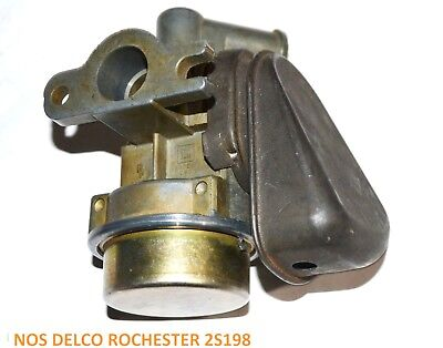 1969 CORVETTE Delco Rochester 7030624 diverter valve 2s198 STAMPED for SMOG PUMP
