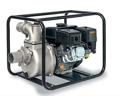 Power Pump 4T A Petrol Self-Priming Portable Aluminium WORTEX Lw 80 6,5 HP