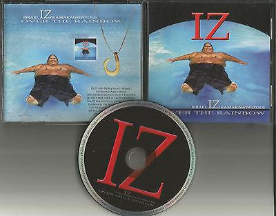 Israel IZ Kamakawiwo'ole Over The Rainbow 2004 USA PROMO Radio DJ CD single (Israel Iz Kamakawiwo Ole Over The Rainbow)