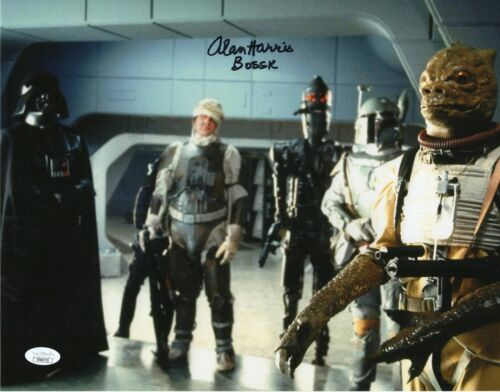 "Alan Harris Autograph Signed 11x14 Photo - Star Wars ""Bossk"" (JSA COA)"