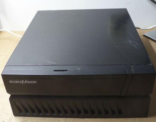 ExacqVision 1602-48-1000-DT-C-L NVR Server i3-3220 1TB HDD, 30GB SSD, 4GB RAM