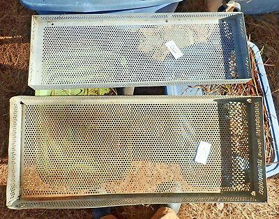 Vintage Metal Drawer Incubator Tray Hatchery Basket Item A Only 1