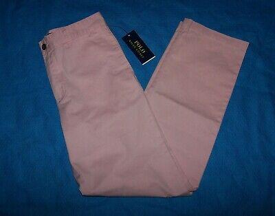 Size 16 Boys Polo Ralph Lauren Pants (Pink)