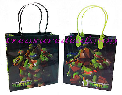 TEENAGE MUTANT NINJA TURTLES 48 PCS GOODIE BAGS PARTY FAVORS CANDY  BIRTHDAY BAG - Ninja Turtles Favors