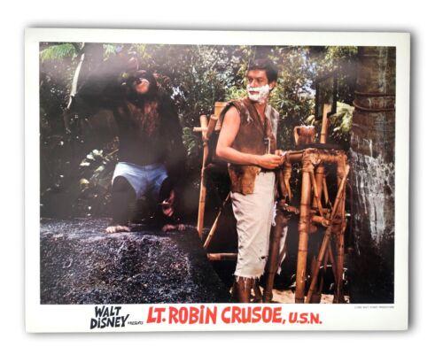 """Lt. Robin Crusoe"" Original 11x14 Authentic Lobby Card Poster Photo 1966 Disney"