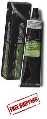 3M™ Black Super Weatherstrip and Gasket Adhesive 08008 5 fl oz, Free Shipping!