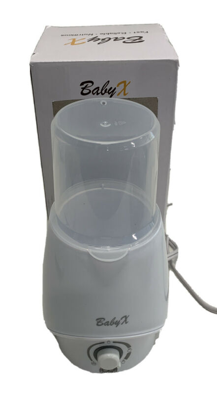 BabyX Fast Bottle Warmer For Breastmilk Infant Formula Baby Food Heater Quickly