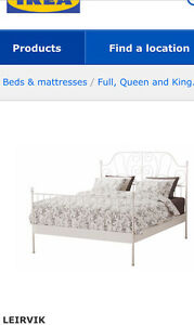 IKEA Queen Size Bed Frame