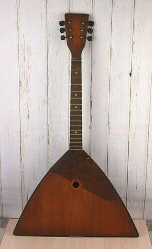 SOVIET Ukraine folklore instrument BALALAIKA Dombra Mandolina  6 string  PRIMA