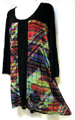 TS top TAKING SHAPE plus sz S (16 - 18) Worlds Apart Top draping loose fit NWT!