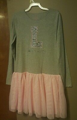 Girls SZ 14 Children's Place Pretty L Is For Love Dress~NWOT (Pretty Dresses For Girls Kids)