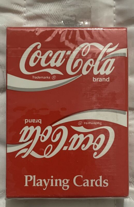 Rare VTG Coca Cola Playing Cards #351 For Collectors Sealed Retail Box Free Ship