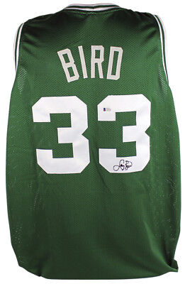 fc588fc487ad Celtics Larry Bird Authentic Signed Green Jersey Autographed BAS Or PSA