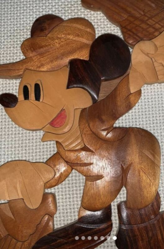 Decor Maple Wood 7 Pieces Disney