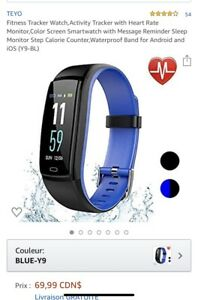 Fitness Tracker / Montre / «style fitbit»