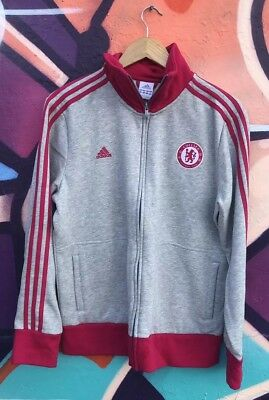 d960e26e6 Adidas Womens Chelsea Football Club Full Zip Track Jacket Sz XL