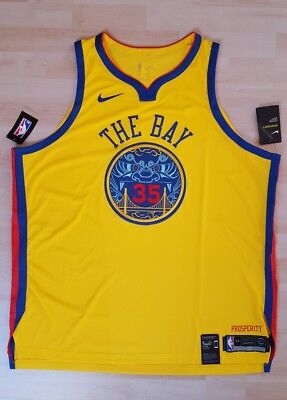 Kevin Durant Golden State Warriors Authentic Basketball Trikot Jersey NBA Curry ()