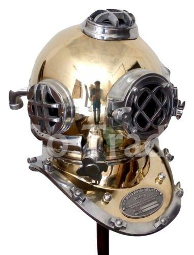 Antique US Navy Mark V Vintage Solid Brass Sea Diversadult Christmas party gift