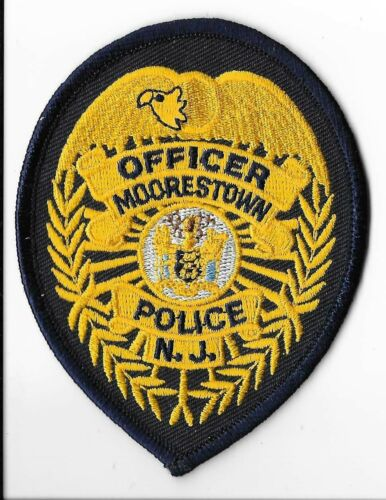Moorestown Police Department, New Jersey Officer Breast Patch