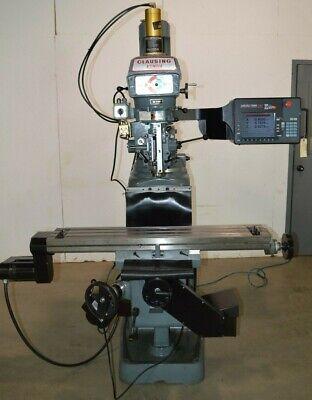 Clausingkondia Model Fv-1 Milling Machine With Proto Trak Sm-2 Cnc Control