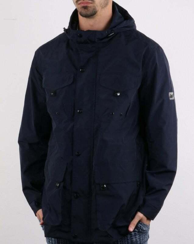 2e876a4cad8 Peaceful Hooligan King Jacket in Navy Blue - lightweight parka, coat