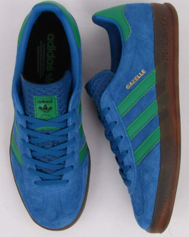 Adidas Gazelle Indoor Trainers GreenYellow
