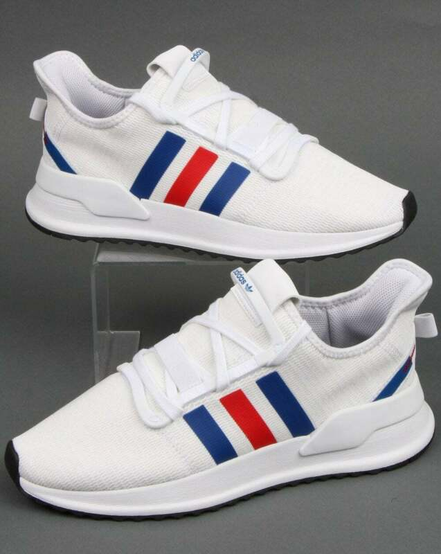 adidas U Path Run Trainers in White