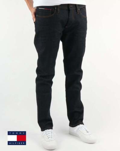 5f1948d0904a Tommy Hilfiger Scanton Slim Fit Jeans in Rinse Comfort Dark Wash Denim