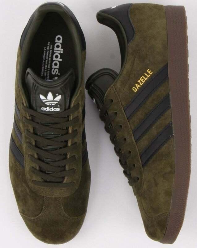 Adidas Gazelle - Night Olive \u0026 Black