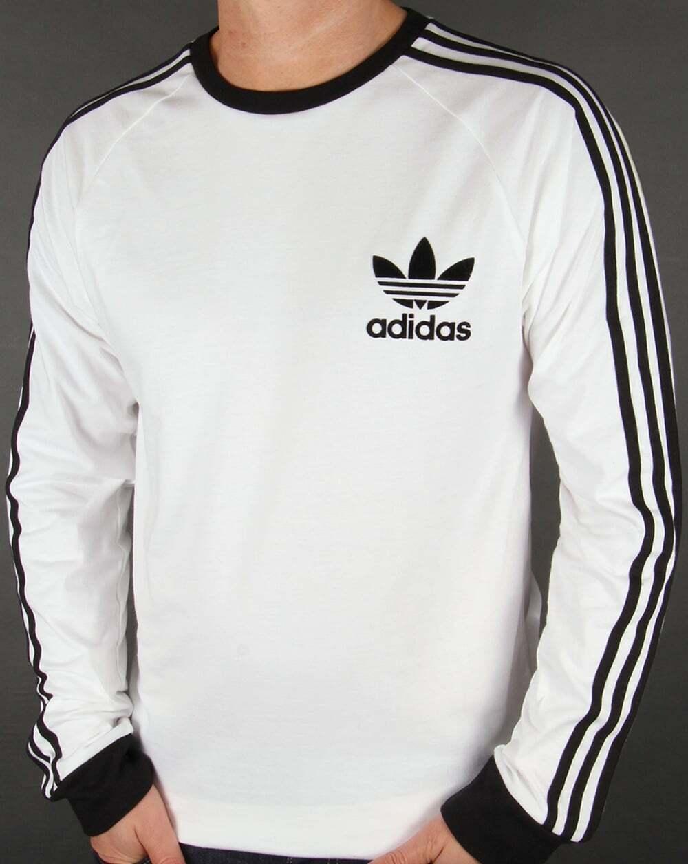 Adidas Men's Short-Long Sleeve Trefoil Logo Graphic T-Shirt