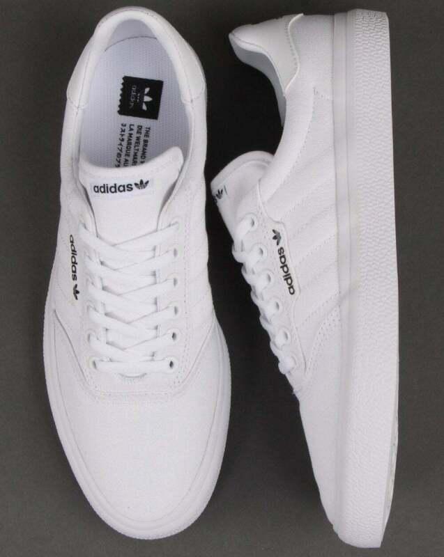 Adidas 3MC Trainers White/White   eBay