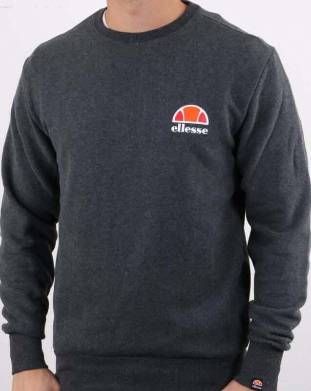Ellesse Sweat Mens Succiso Sweatshirt in Black RRP £39.99