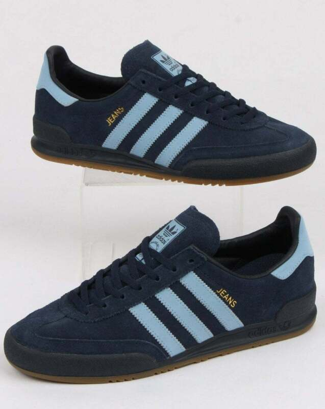 adidas Jeans Trainers in Navy Blue