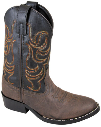 Smoky Mountain Kids Boy Monterey Western Cowboy Boots Stitch