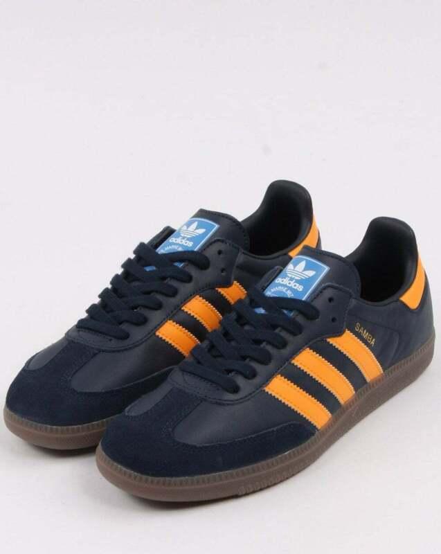 black and orange adidas samba cheap online