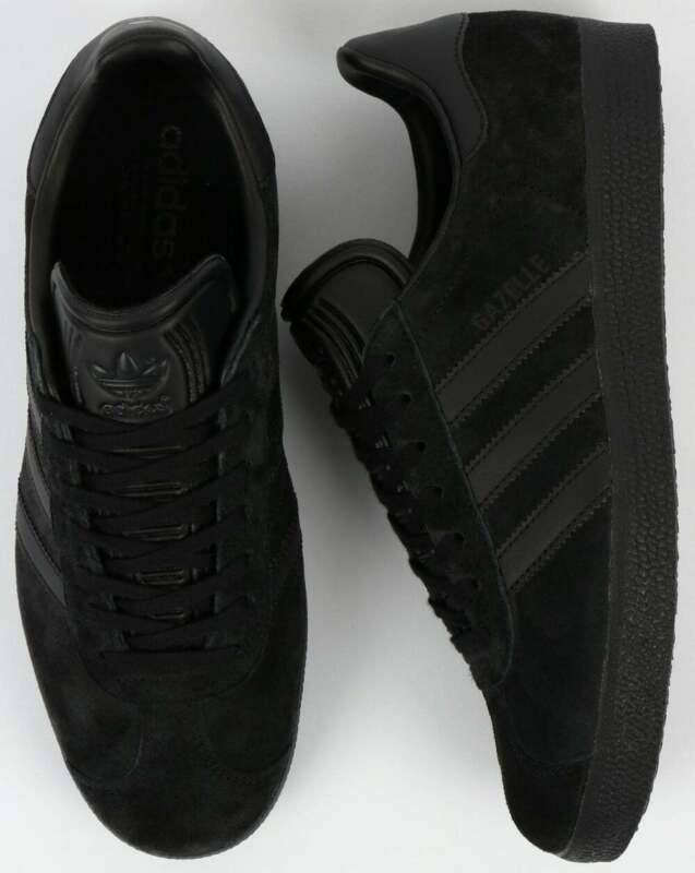 Adidas Gazelle Trainers - All Black for