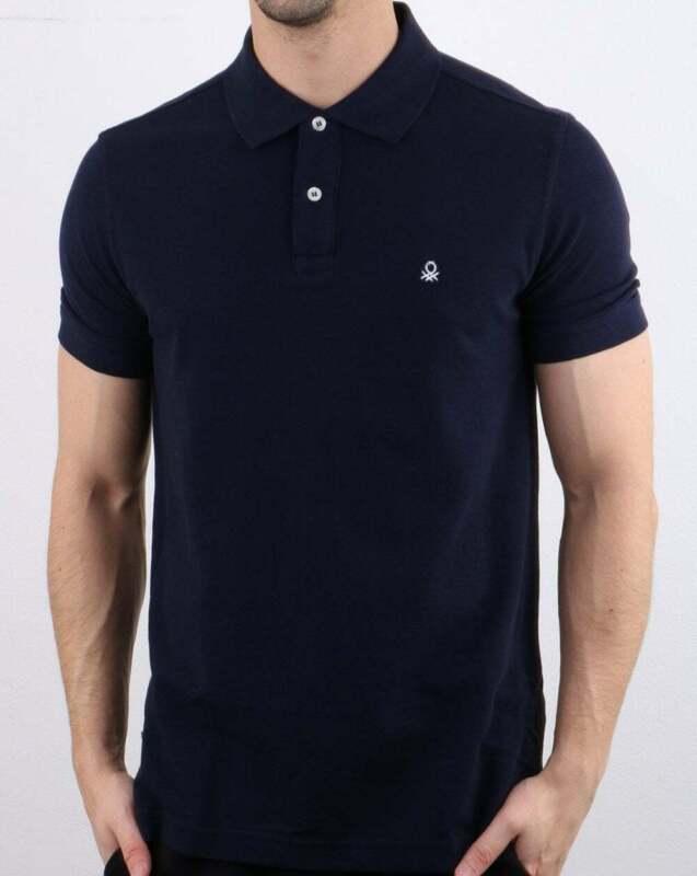 North Sails Navy White Short Sleeves Cotton Polo Shirt T shirt top S M L XL 2XL