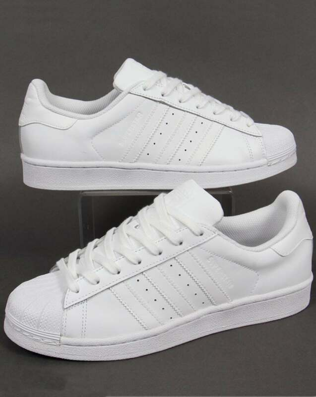 adidas superstar shell toe trainers