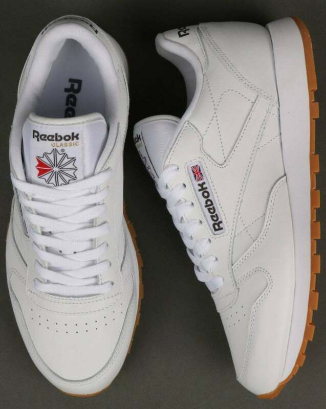 Reebok Classic Leather Trainers White