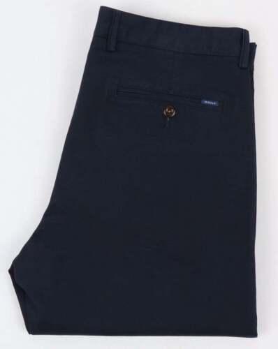 Förenta staterna fler foton kvalitet Gant Twill Chino Trousers in Navy Blue - cotton regular fit | eBay