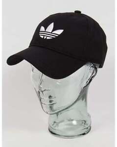 Adidas Originals - Trefoil Logo Baseball Cap in Black